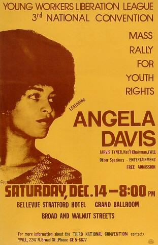 Angela Davis Poster