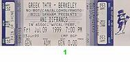 Ani DiFranco 1990s Ticket