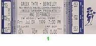 Ani DiFranco 1990s Ticket