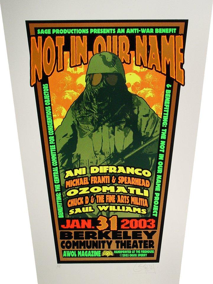 Ani DiFranco Poster