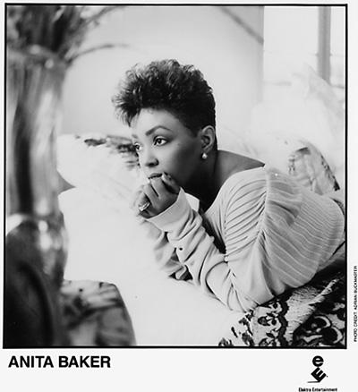 Anita BakerPromo Print