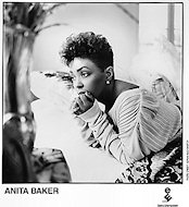 Anita Baker Promo Print
