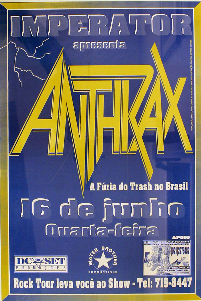 Anthrax Poster