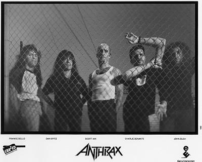 Anthrax Promo Print