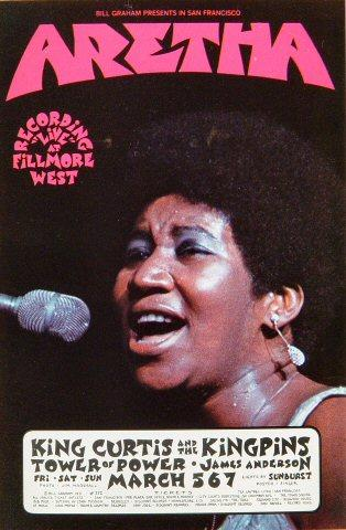 Aretha Franklin Handbill