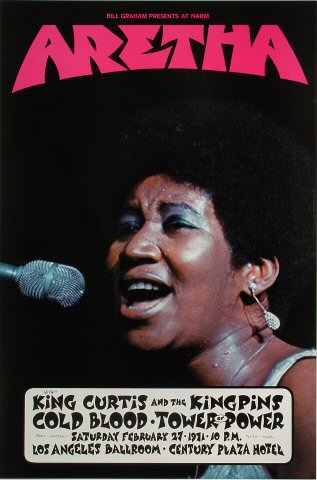 Aretha Franklin Poster 50% Off