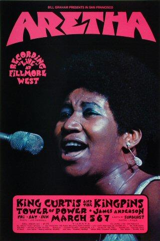 Aretha Franklin Poster