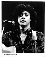 Arlo Guthrie Promo Print
