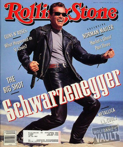 Arnold SchwarzeneggerRolling Stone Magazine