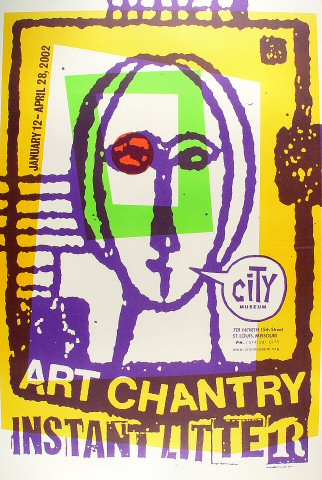Art Chantry Poster