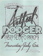 Artful Dodger Handbill