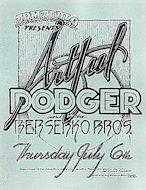 Artful Dodger Handbill