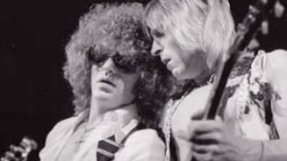 Ian Hunter With Mick Ronson