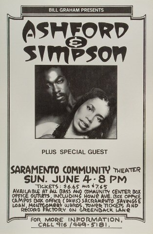 Ashford and Simpson Poster