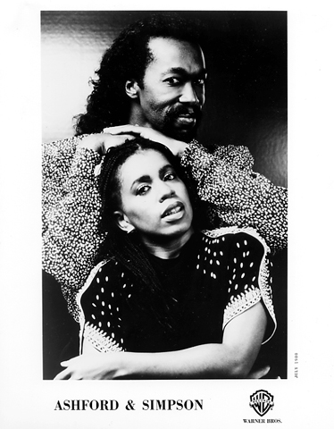Ashford and Simpson Promo Print