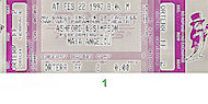 Ashford and Simpson Vintage Ticket