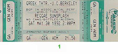 Aswad1990s Ticket
