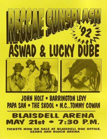 Aswad Handbill