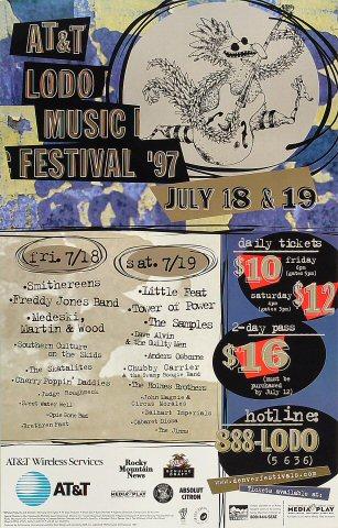 ATandT LoDo Music Festival Poster