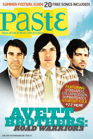 Avett Brothers Paste Magazine