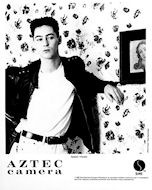 Aztec Camera Promo Print