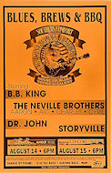 B.B. King Blues Festival Poster