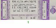 Jimmie Vaughan 1990s Ticket