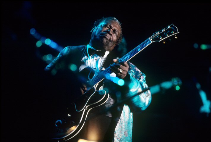 B.B. King BG Archives Print