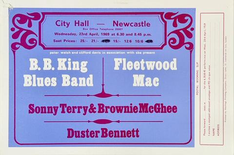 B.B. King Handbill
