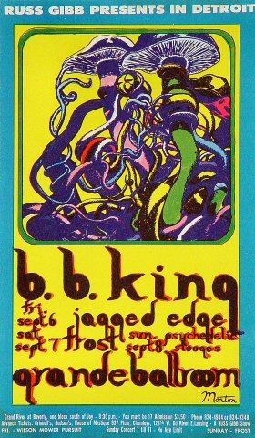 B.B. King Postcard