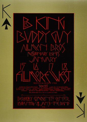 The Allman Brothers Band Poster