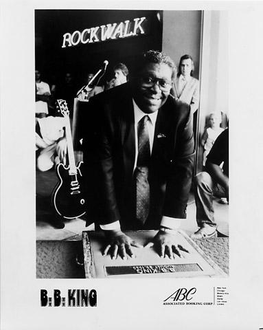 B.B. KingPromo Print