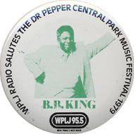 B.B. King Vintage Pin