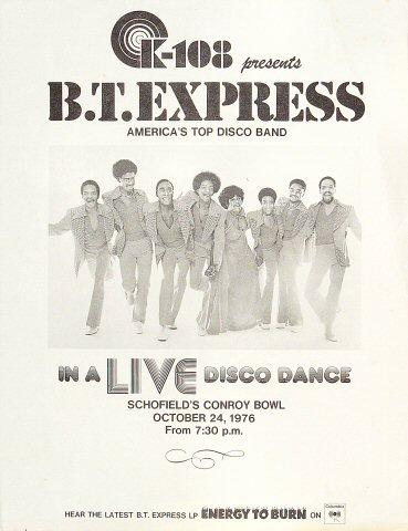 B.T. Express Handbill