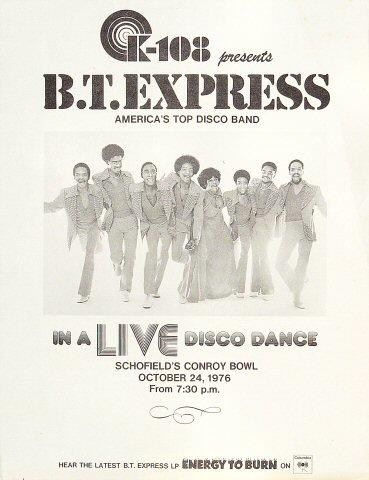 B.T. Express Handbill
