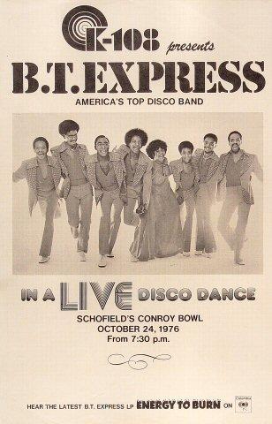 B.T. Express Poster