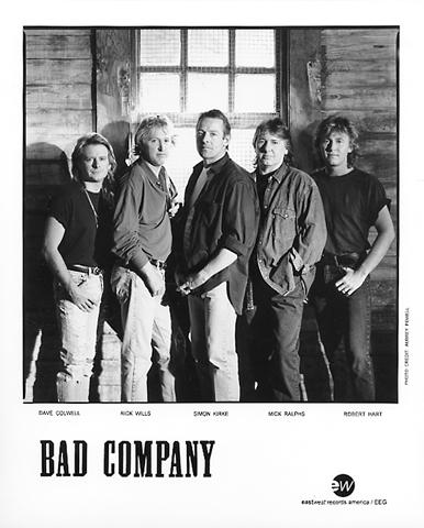 Bad CompanyPromo Print
