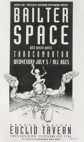 Bailter Space Handbill