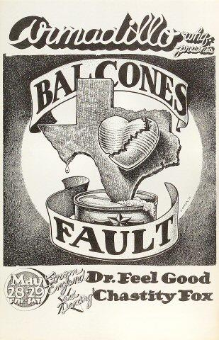 Balcones Fault Poster