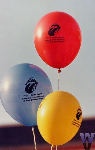 Balloons Vintage Print