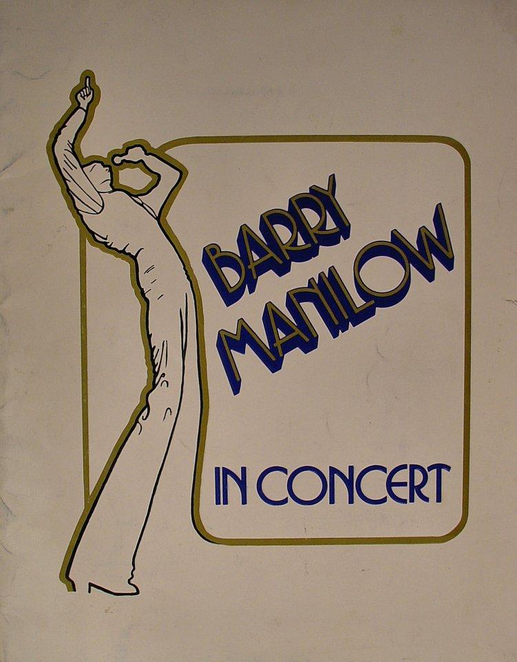 Barry Manilow Program