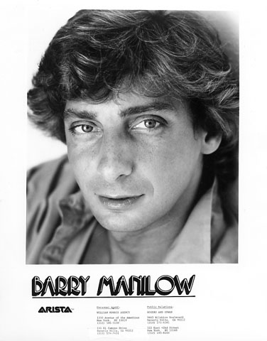 Barry ManilowPromo Print