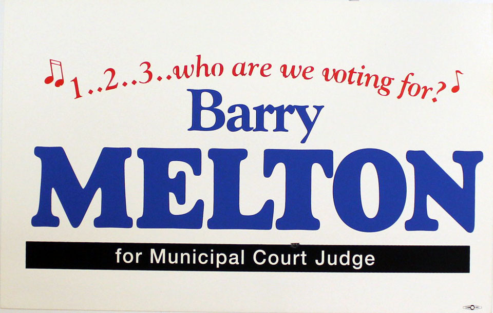 Barry Melton Poster
