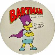 Bart Simpson Vintage Pin