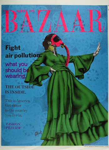 Bazaar: Fight Air Pollution Poster