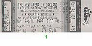 Beastie Boys 1990s Ticket