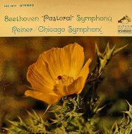 "Beethoven Pastoral Symphony, Reiner/Chicago Symphony Vinyl 12"" (Used)"