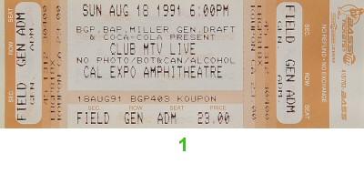 Bell Biv DeVoe1990s Ticket