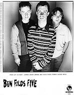 Ben Folds Five Promo Print