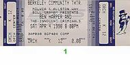 Ben Harper &amp; The Innocent Criminals 1990s Ticket